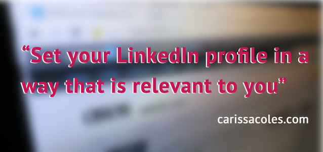 How to Change your LinkedIn Public Profile URL